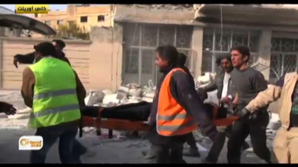 敘利亞伊德利卜市集遭空襲多人死傷