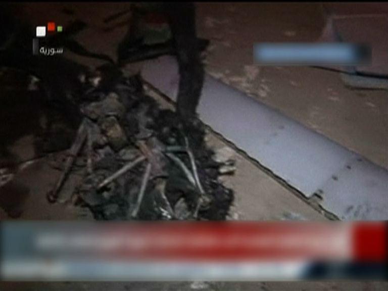 美軍無人機敘利亞境內墜毀