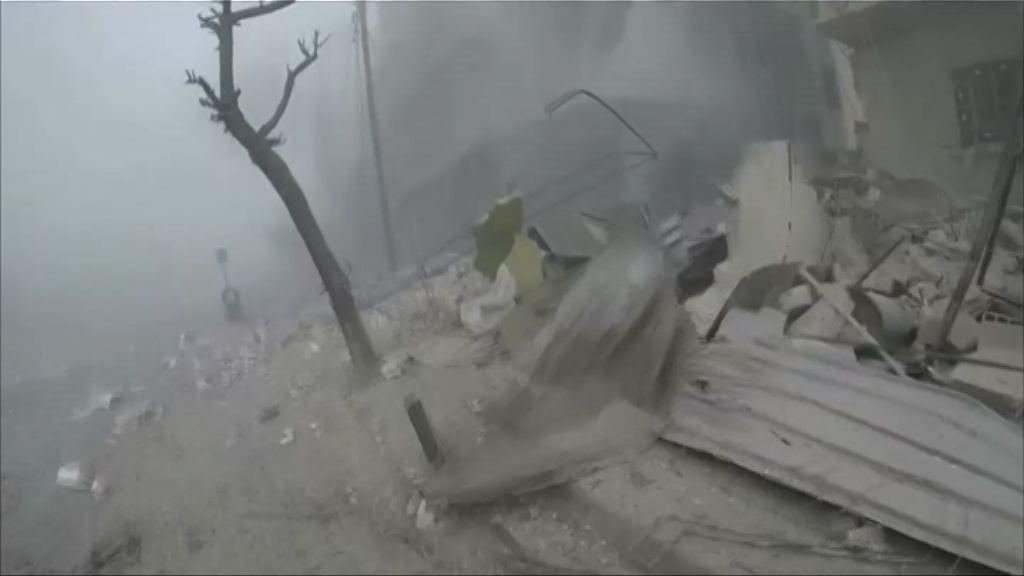 敘利亞政府軍續轟炸東古塔地區增至310死