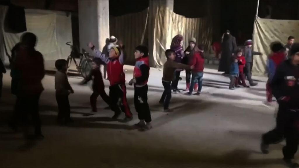 東古塔數千平民躲於地下室保命