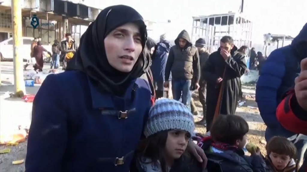 「阿勒頗女童」已安全撤走