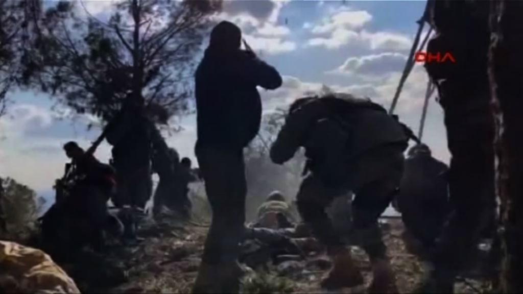 土耳其部隊攻佔敘利亞戰略性山區