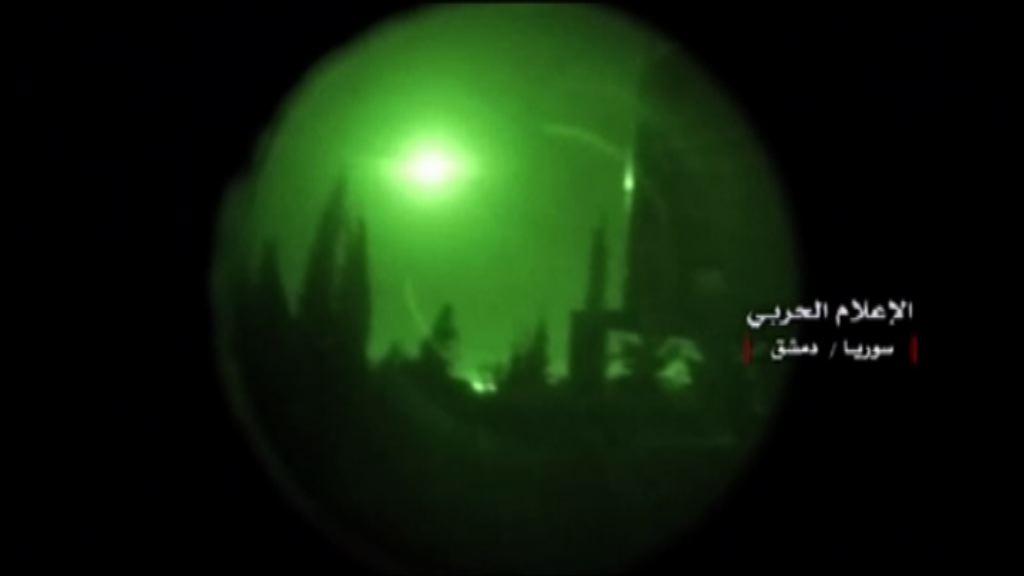 敘利亞疑再受導彈攻擊 美國否認涉是次襲擊