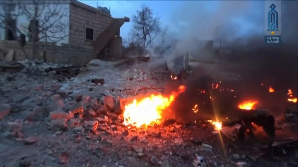 俄軍機敘利亞被擊落 機師跳傘逃生後遭殺死