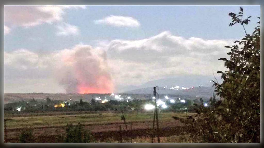 以色列戰機空襲敘利亞西部城市