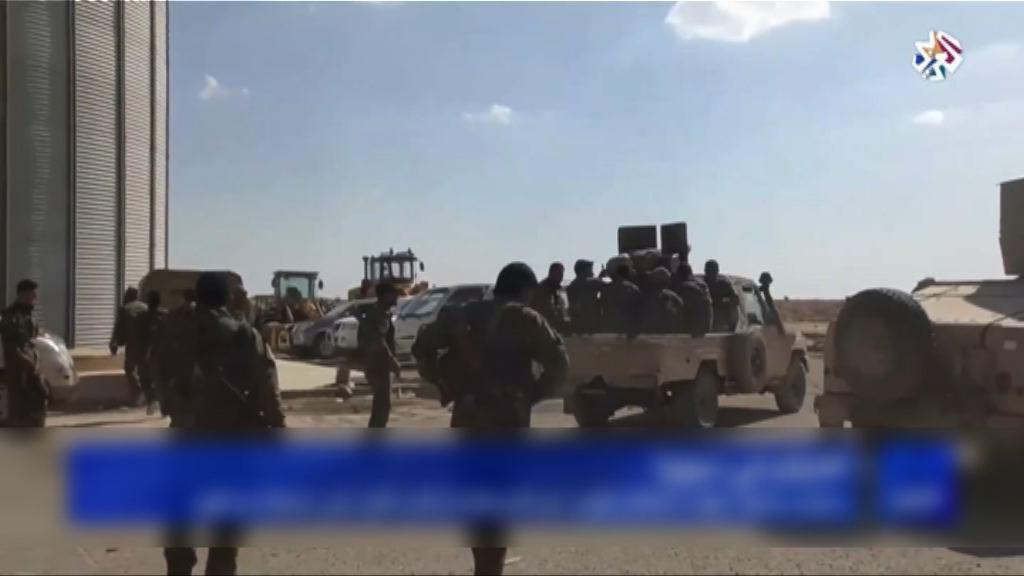 敘利亞政府軍向城鎮代爾祖爾推進