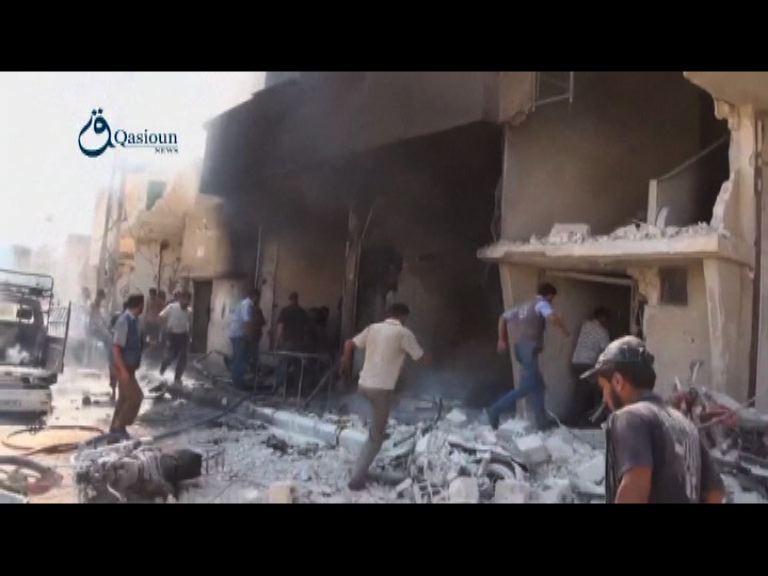 俄羅斯戰機續空襲敘利亞目標