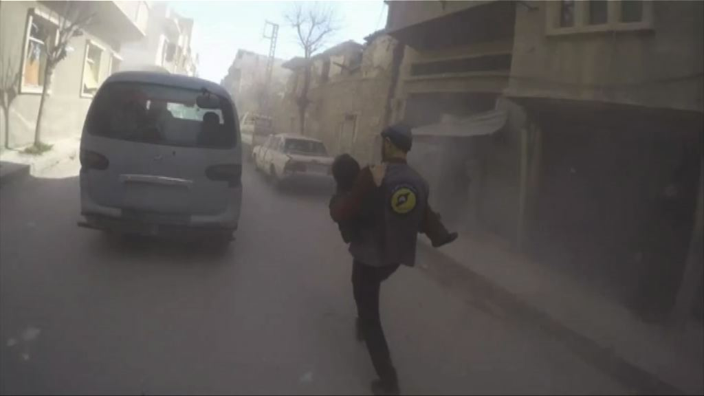 俄敘政府軍空襲反對派據點逾31死