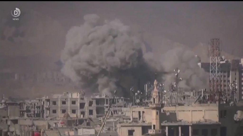 俄敘政府軍空襲反對派據點逾30死