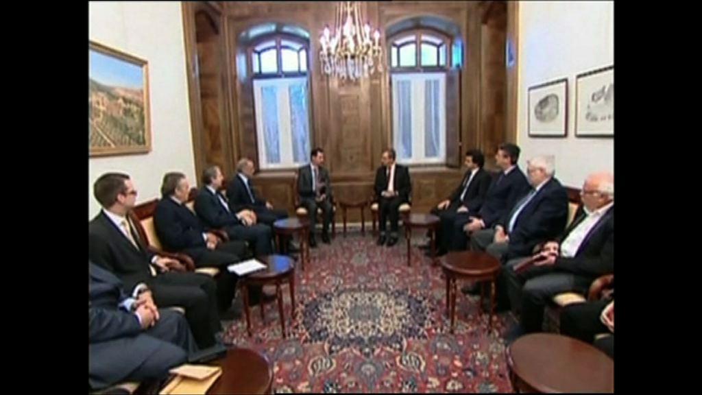 敘利亞反對派同意晤巴沙爾代表