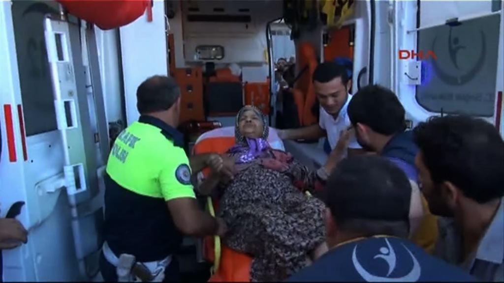 土耳其邊境城鎮遭伊斯蘭國火箭砲襲擊