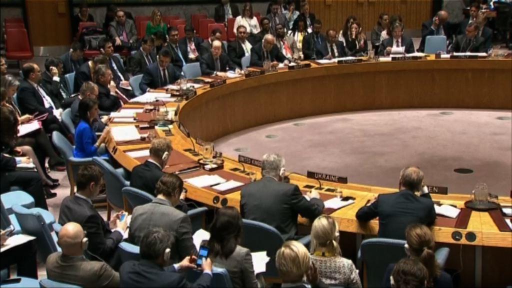 安理會討論敘利亞疑受化武攻擊