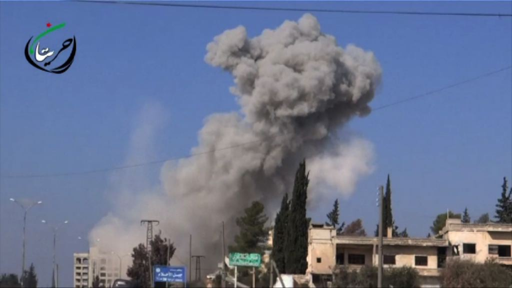 敘政府軍再於阿勒頗一帶發動攻勢