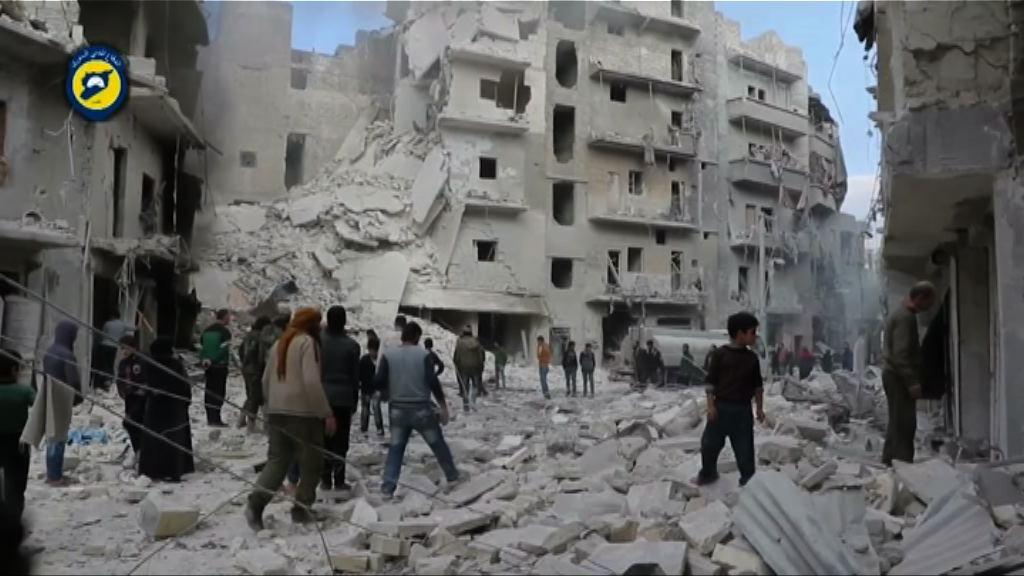 敘利亞續空襲阿勒頗逾三十平民死