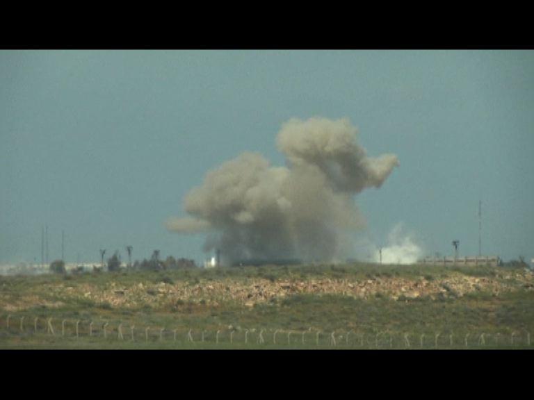 敘利亞武裝分子佔據邊境要道
