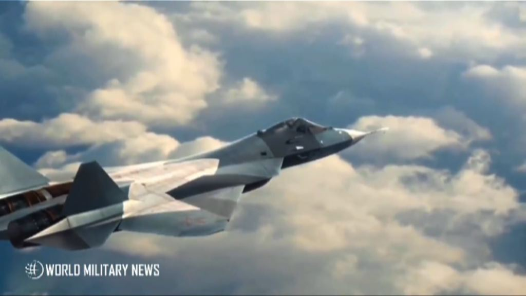 俄最新型號戰機蘇-57部署敘利亞