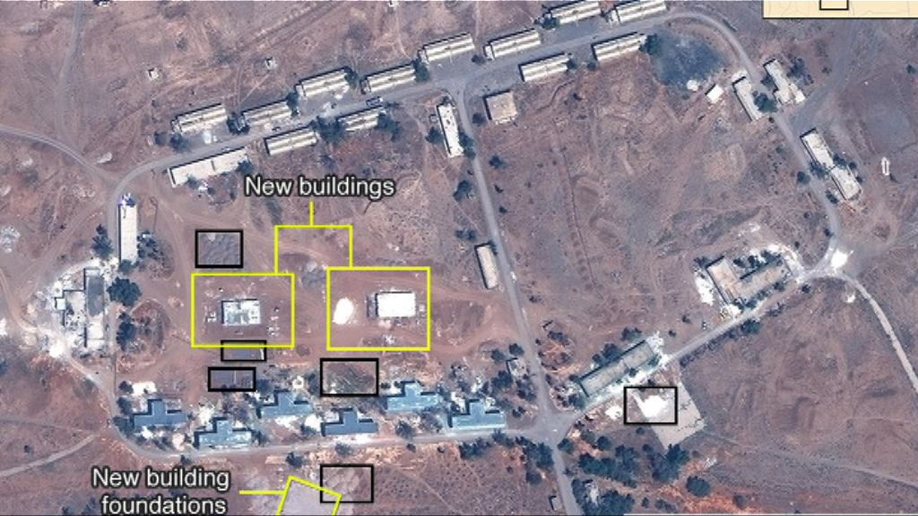 伊朗或在敘利亞興建軍事設施