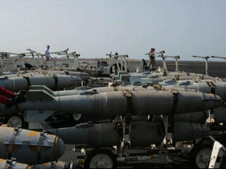 敘利亞指控聯軍空襲政府軍目標
