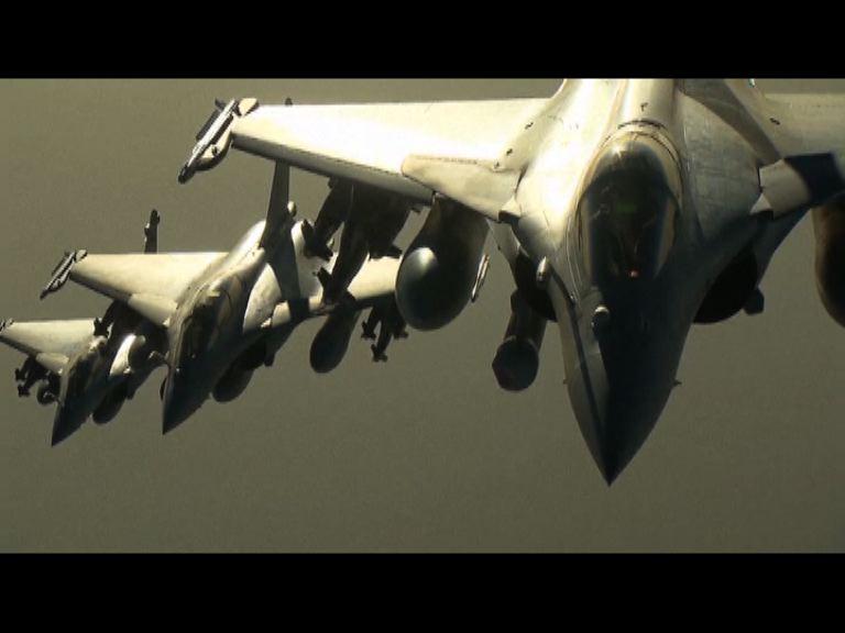 法國首次空襲敘國伊斯蘭國據點