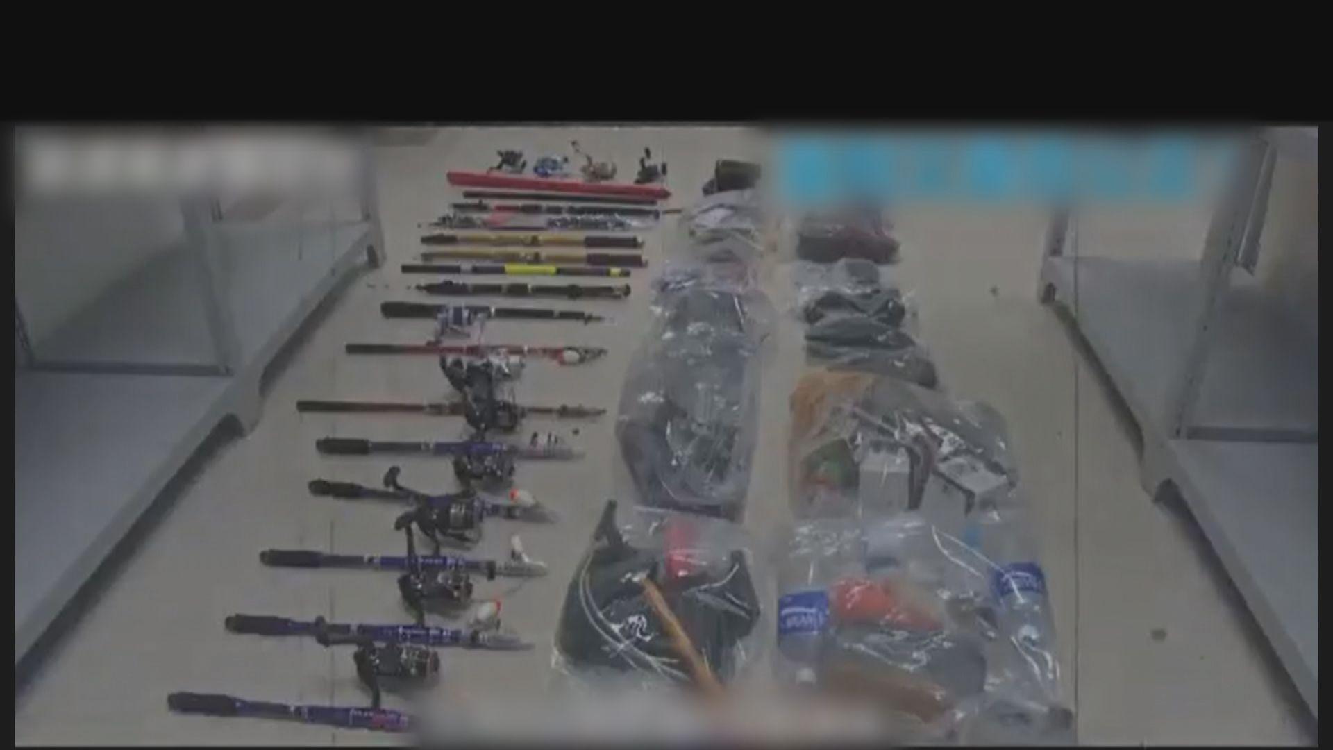 十二港人案 內地傳媒展示聲稱案中證物