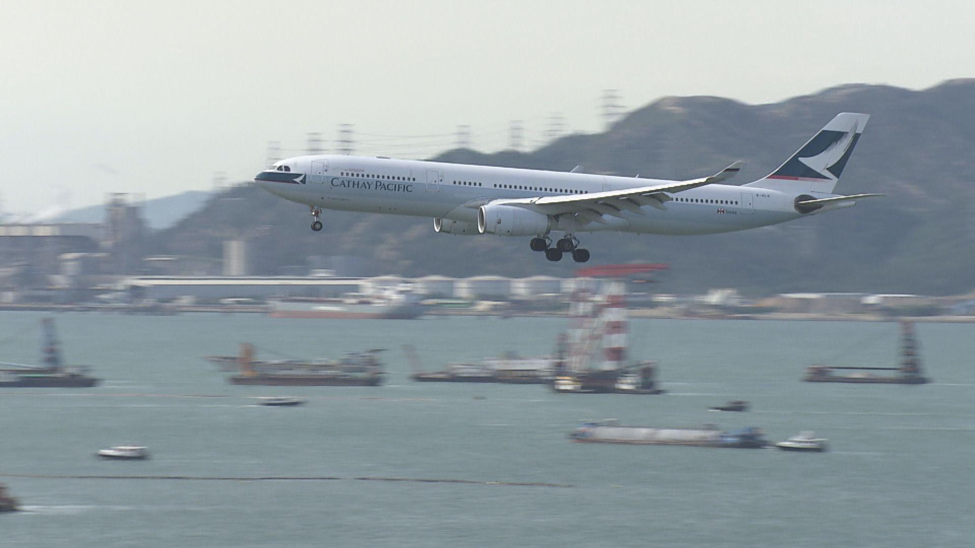 深圳確診者乘國泰CX260抵港再返內地