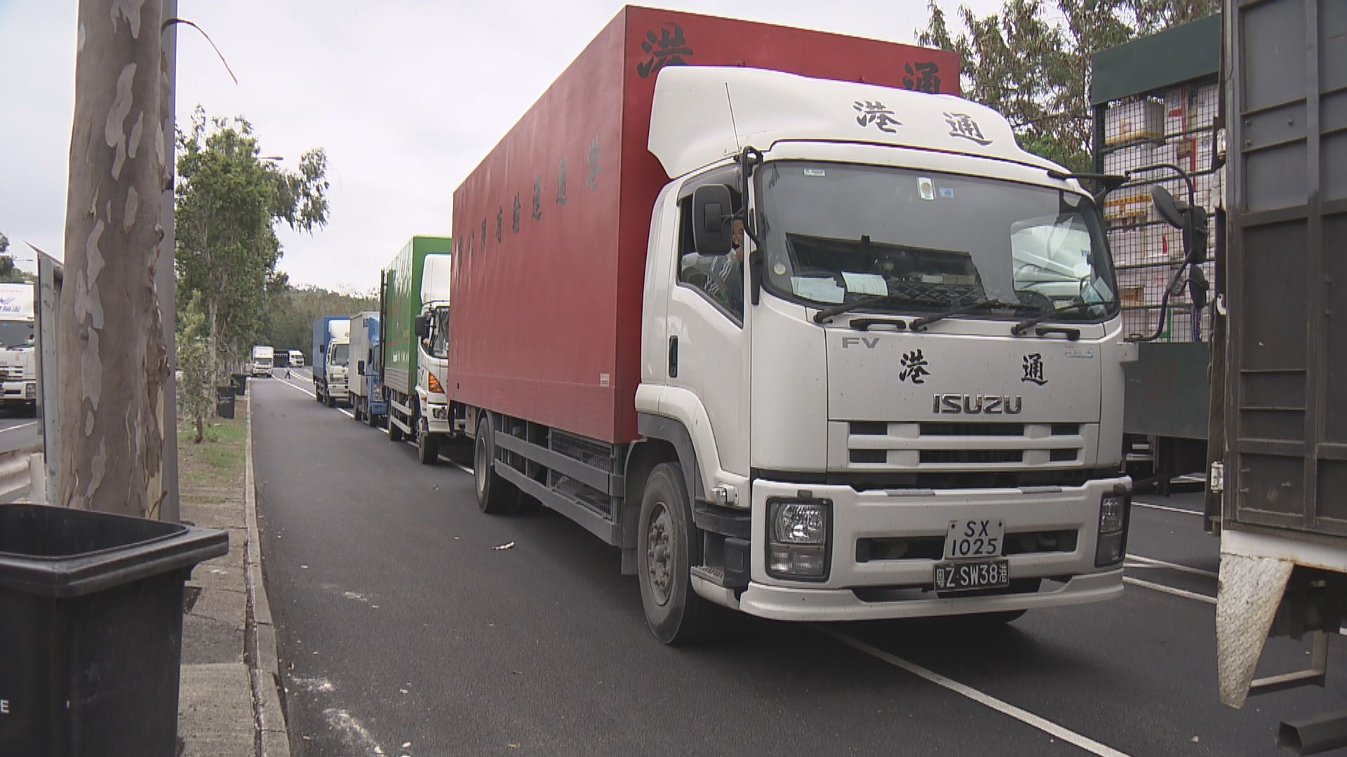 64名跨境貨車司機被深圳永久移除豁免名單