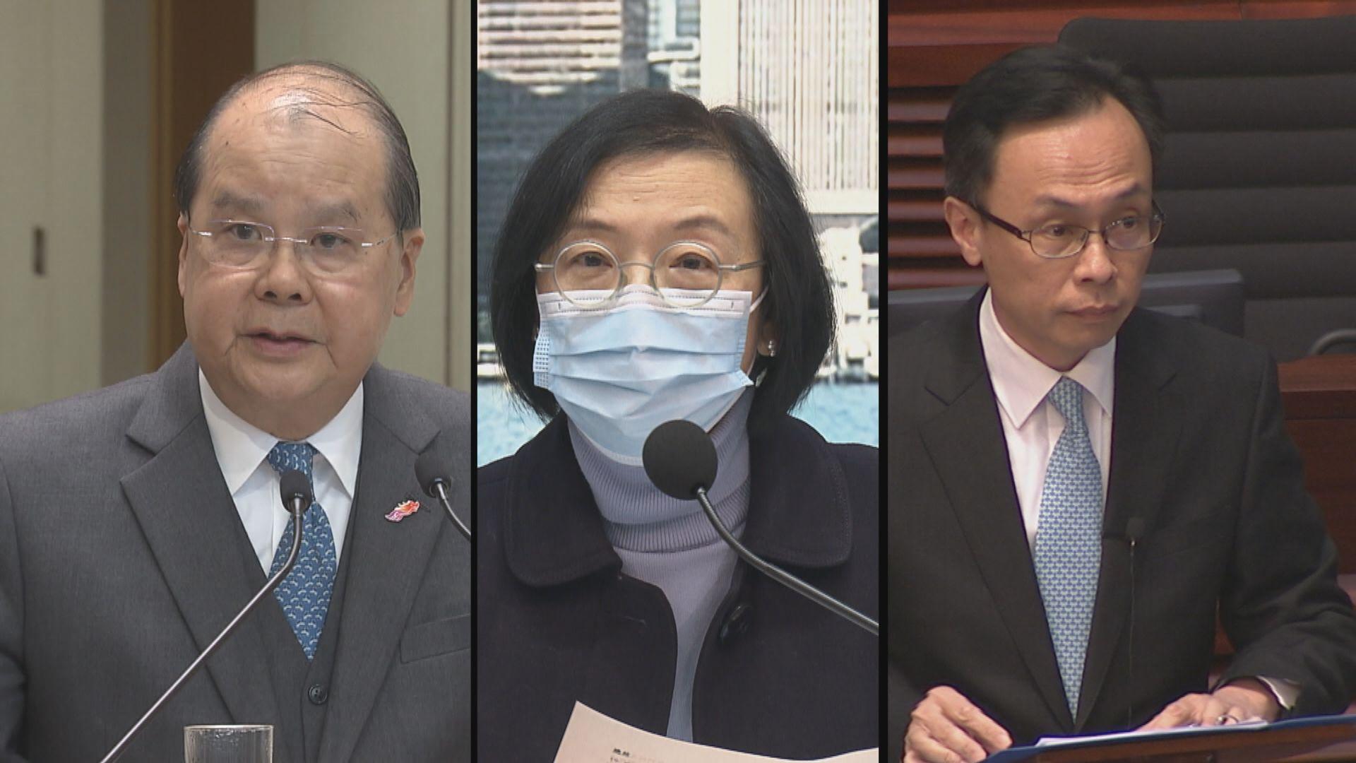 消息:張建宗率官員赴深圳見衞健委