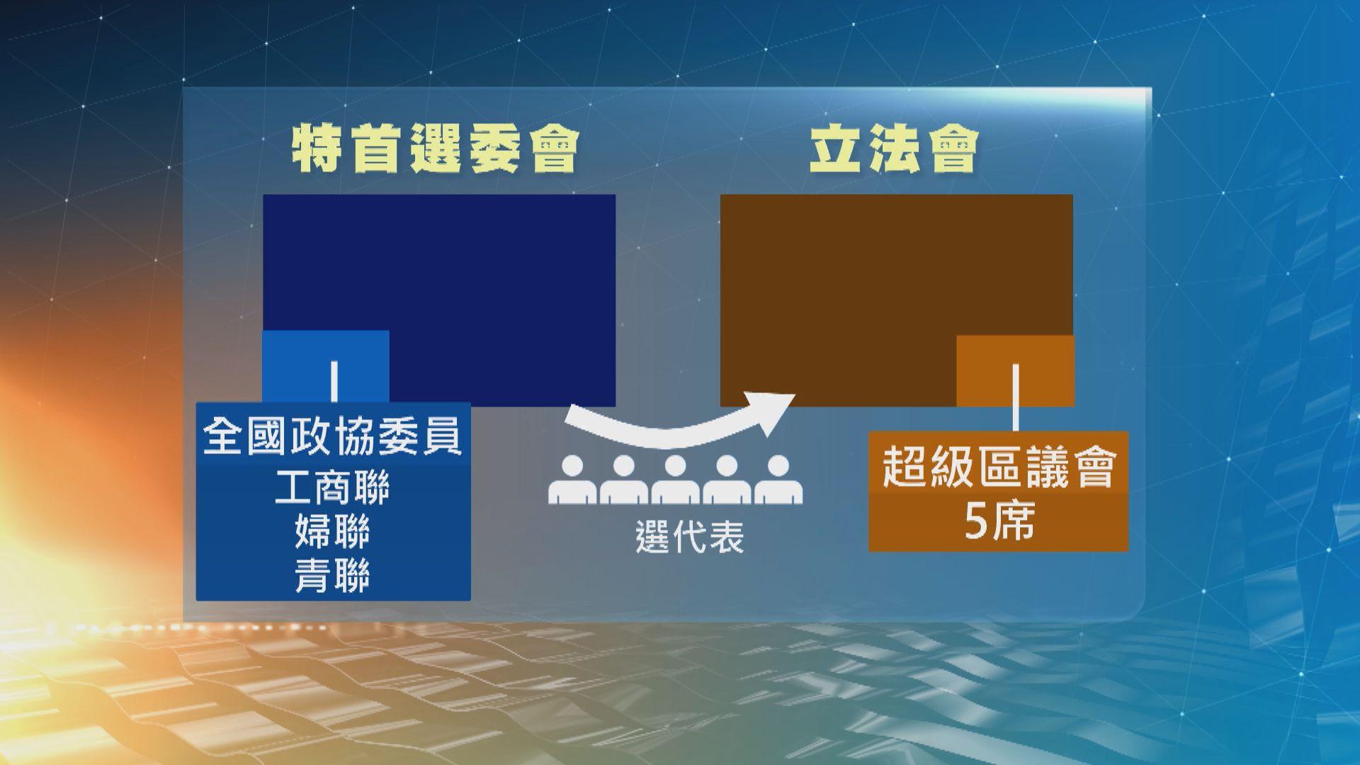 范太:區議會屬非政權組織 立會選委會議席應取消