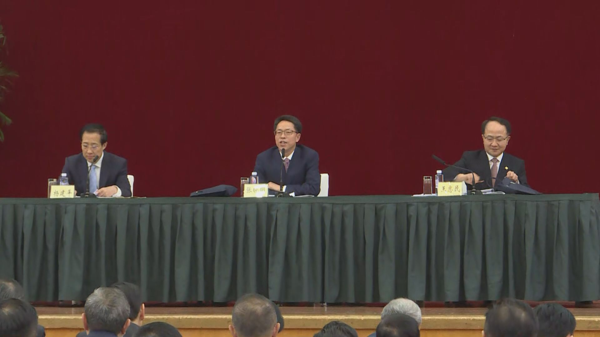 張曉明:香港正面臨回歸以來最嚴峻局面