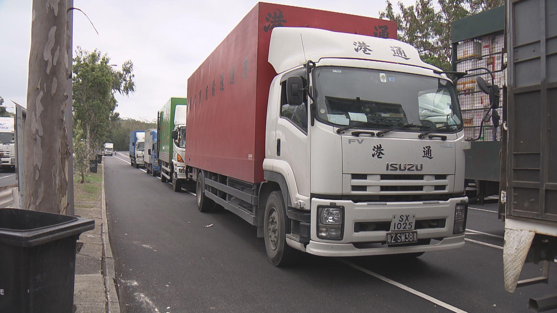 跨境貨車司機每日入境須檢測 業界指不排除深圳會再收緊要求