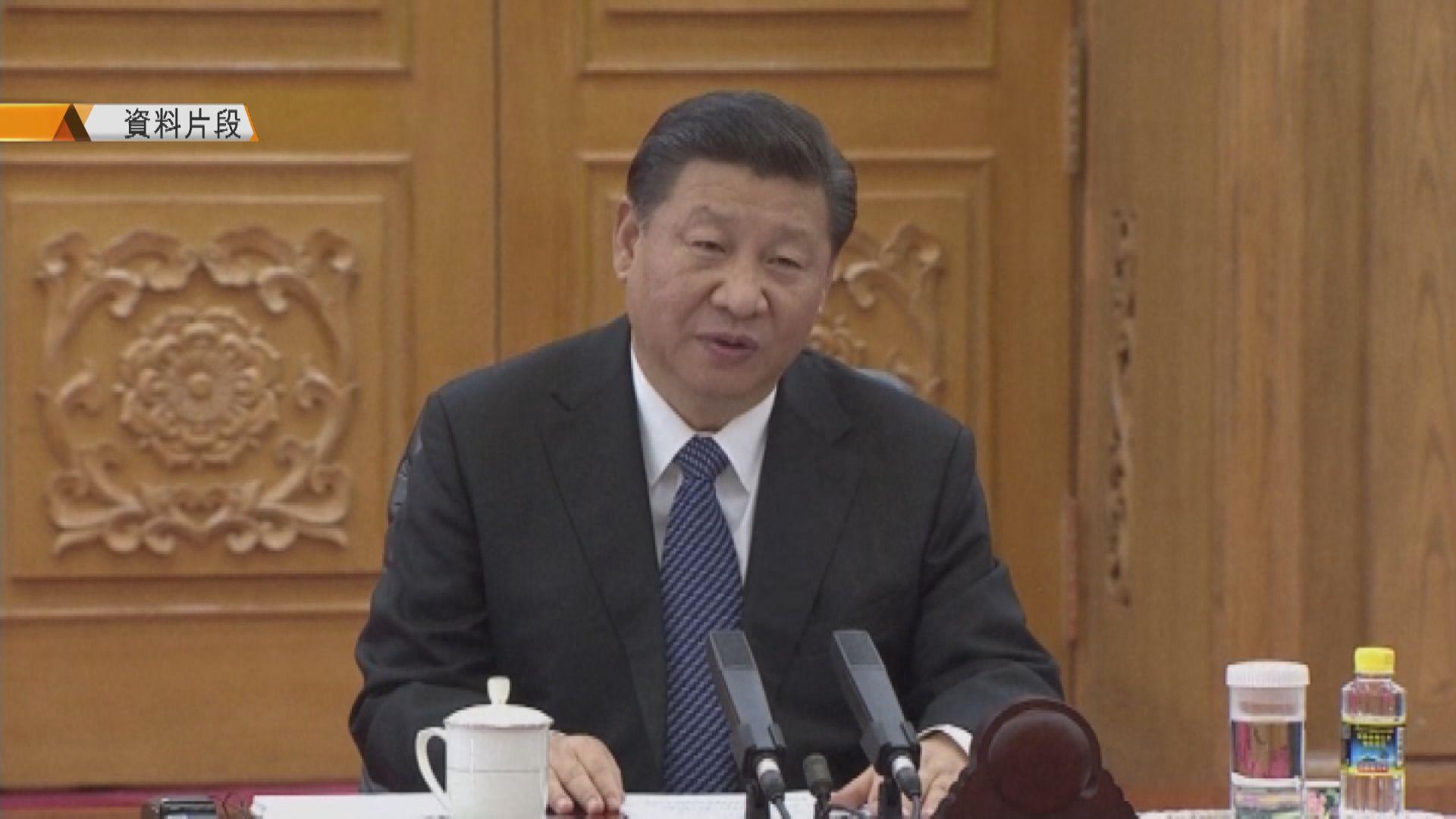 習近平周三赴深圳 出席特區建立40周年慶祝大會