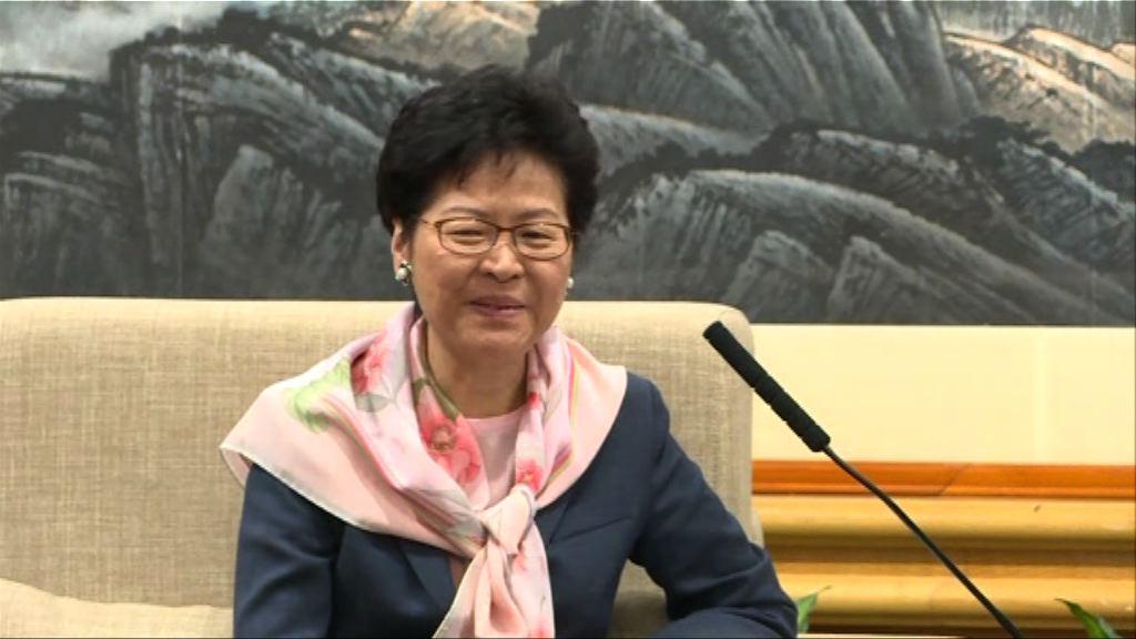 林鄭月娥訪問深圳 冀兩地加強合作