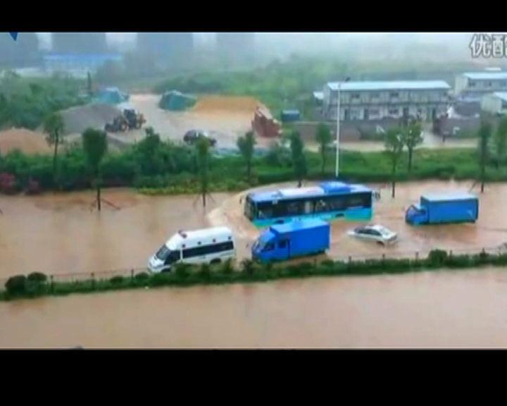 深圳遭遇近六年最大暴雨