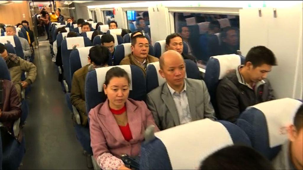 亞洲最大地下車站 福田站高鐵通車