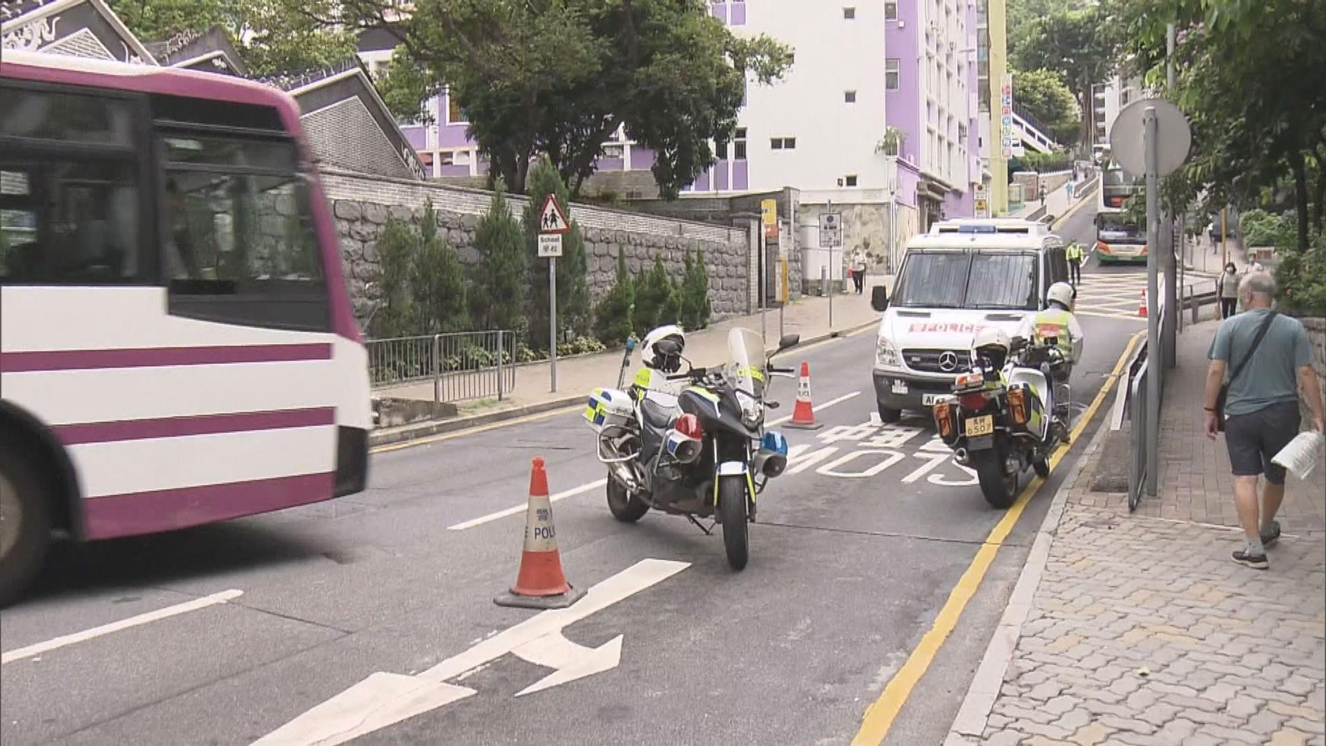 香港仔老婦被車輛輾斃 警追查不顧而去涉案車輛