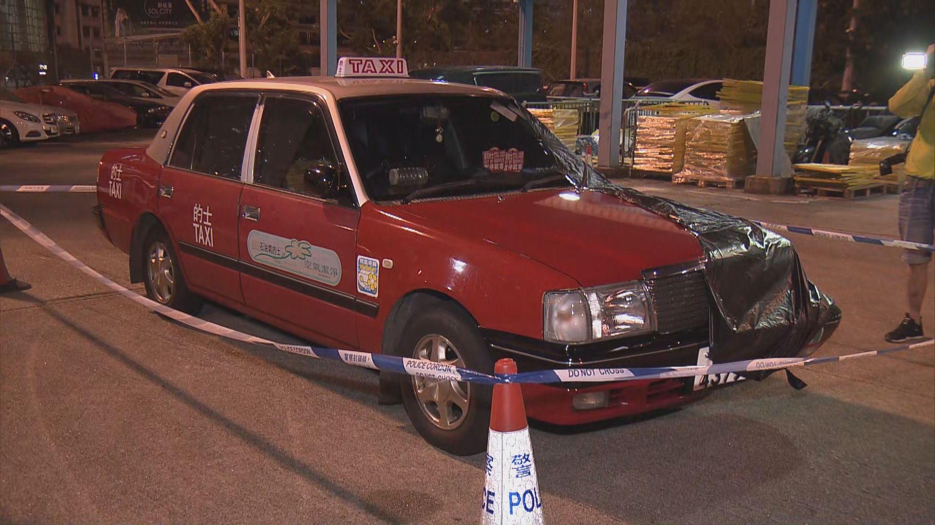 的士東廊撞死老翁 司機自首被捕