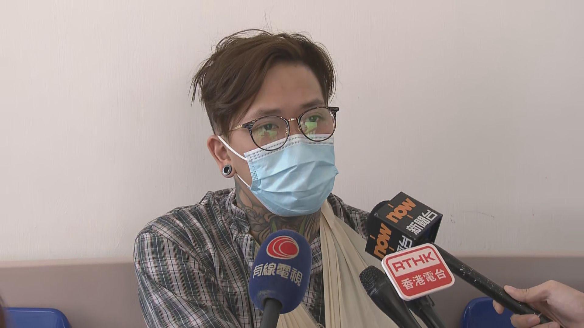【粉嶺公路車禍】九巴派員醫院慰問受傷乘客