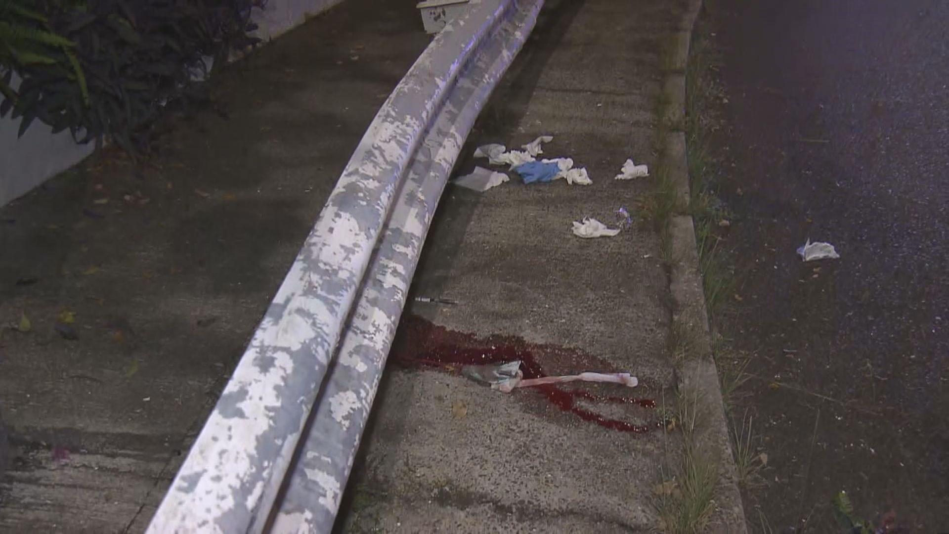 火炭男子駕電單車撞欄昏迷送院亡