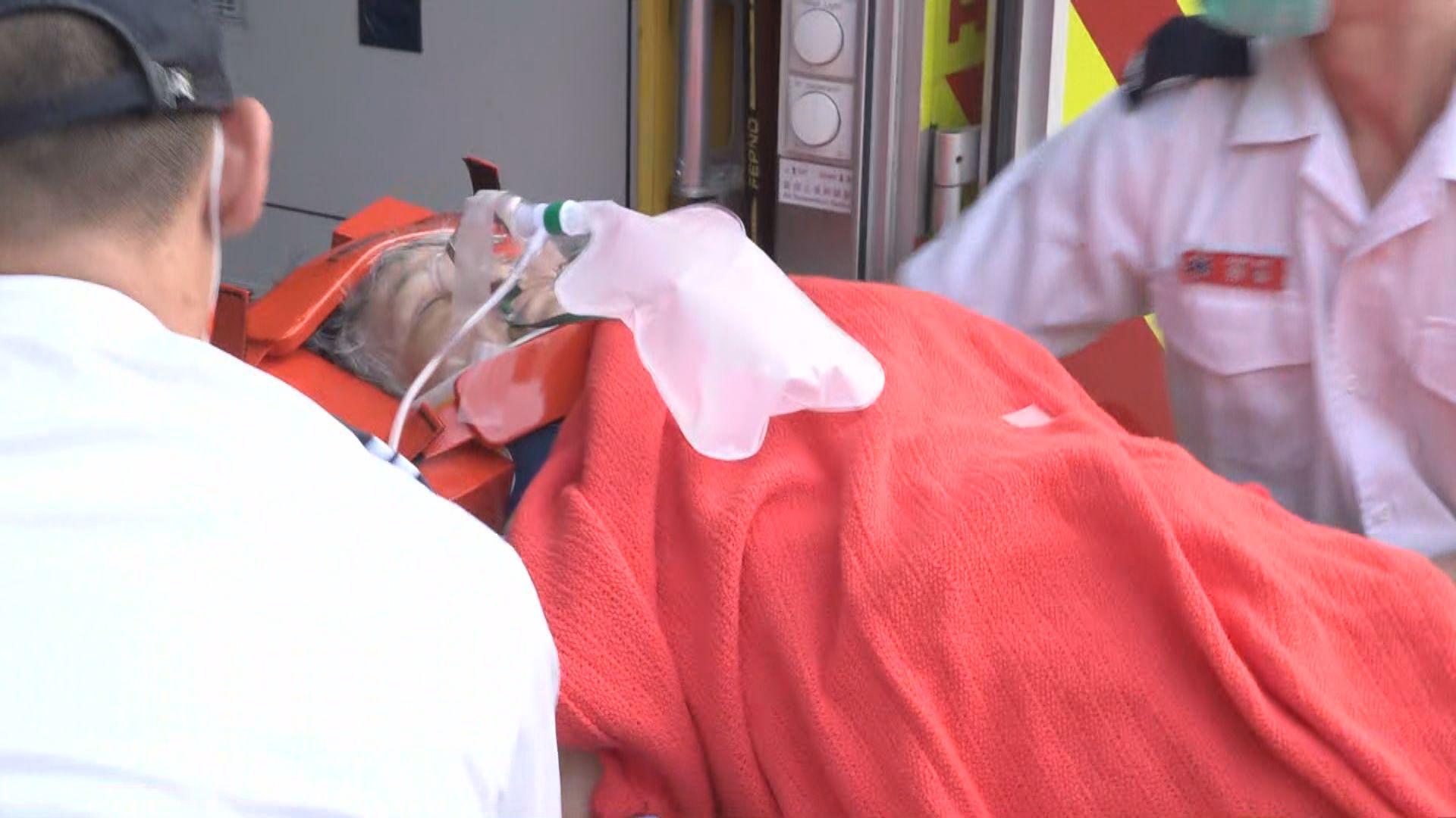 觀塘貨車撞傷過路老婦