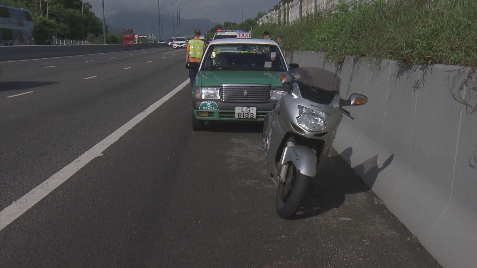北大嶼山公路致命車禍電單車司機死亡