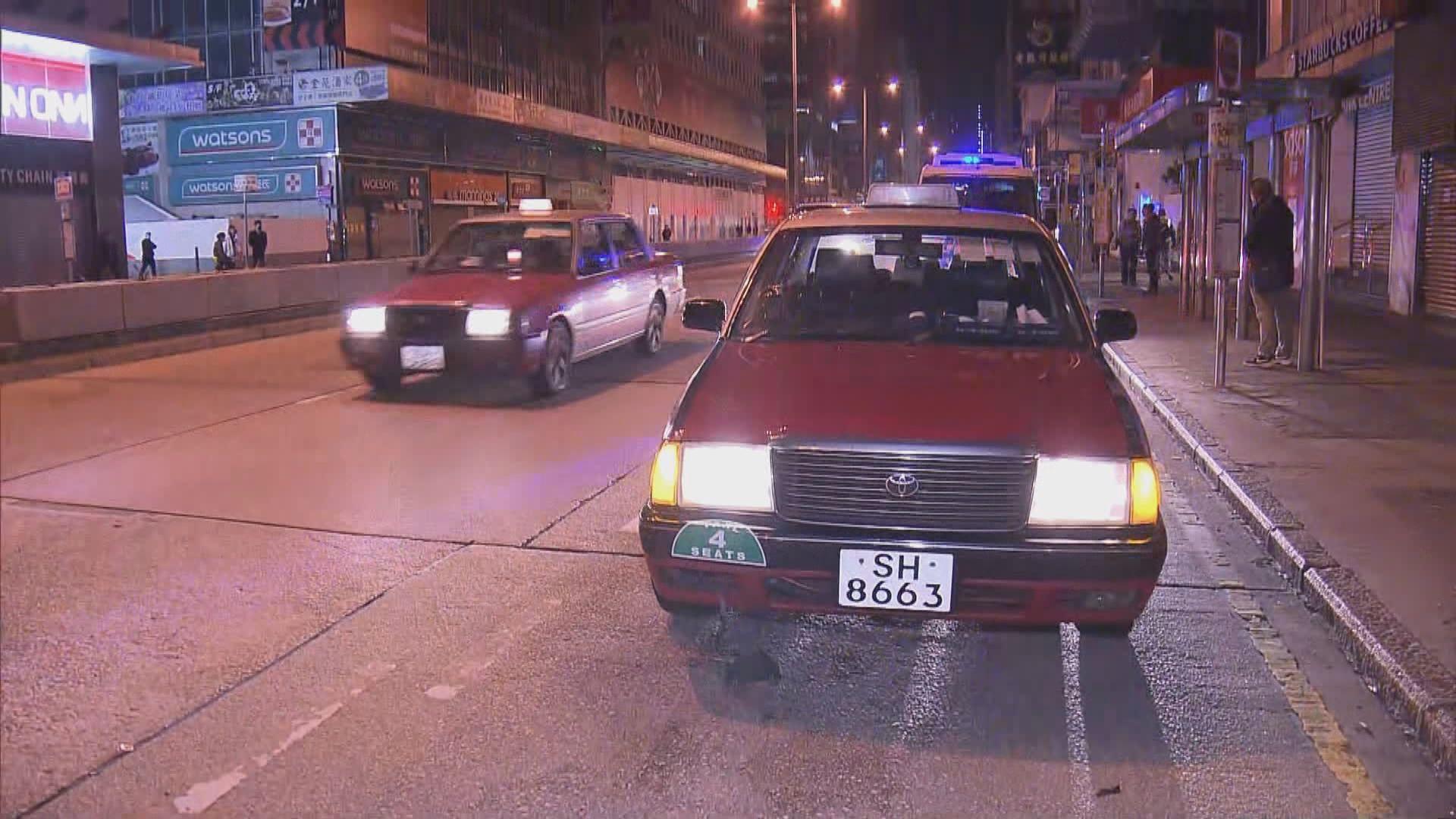 旺角彌敦道的士撞斃過路男途人