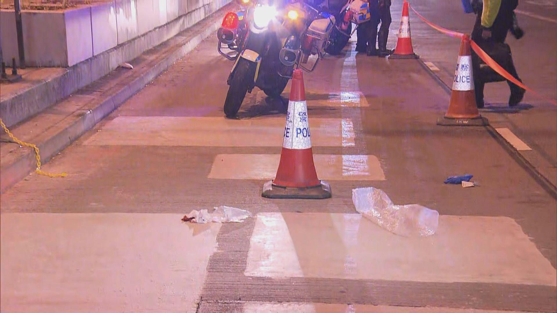 旺角彌敦道的士撞斃過路男子 警方正調查意外原因
