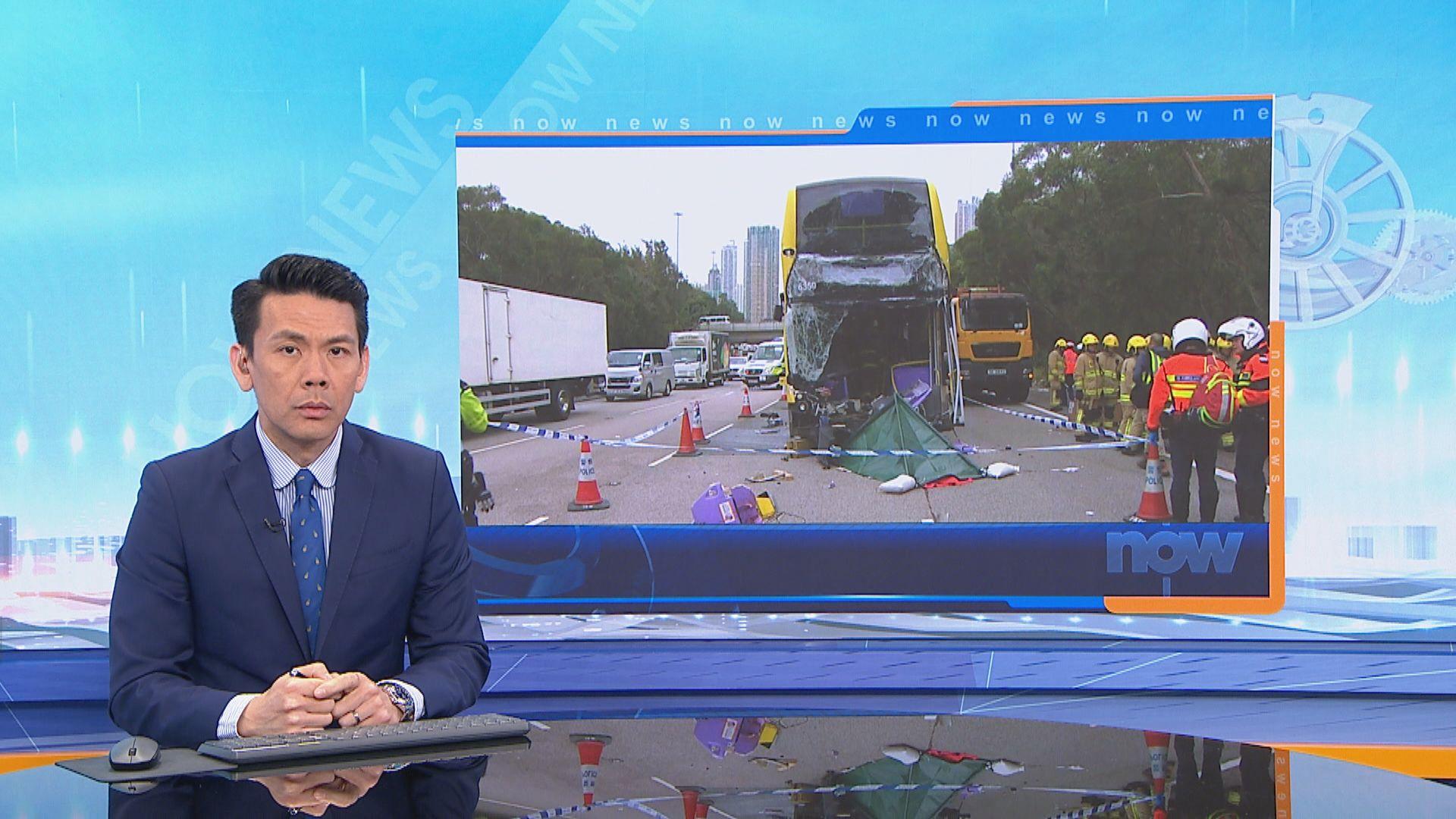 西九龍兩死車禍 警稱貨車壞車落尾板做法危險