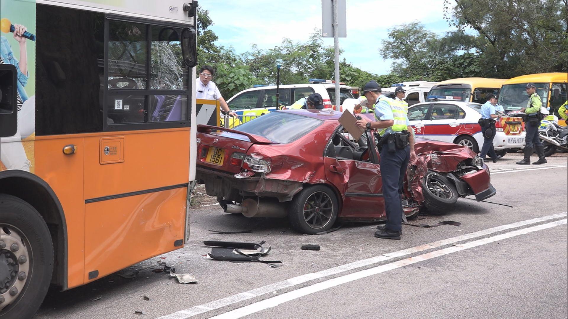 石澳道致命車禍 消息指司機乘客是叔侄關係
