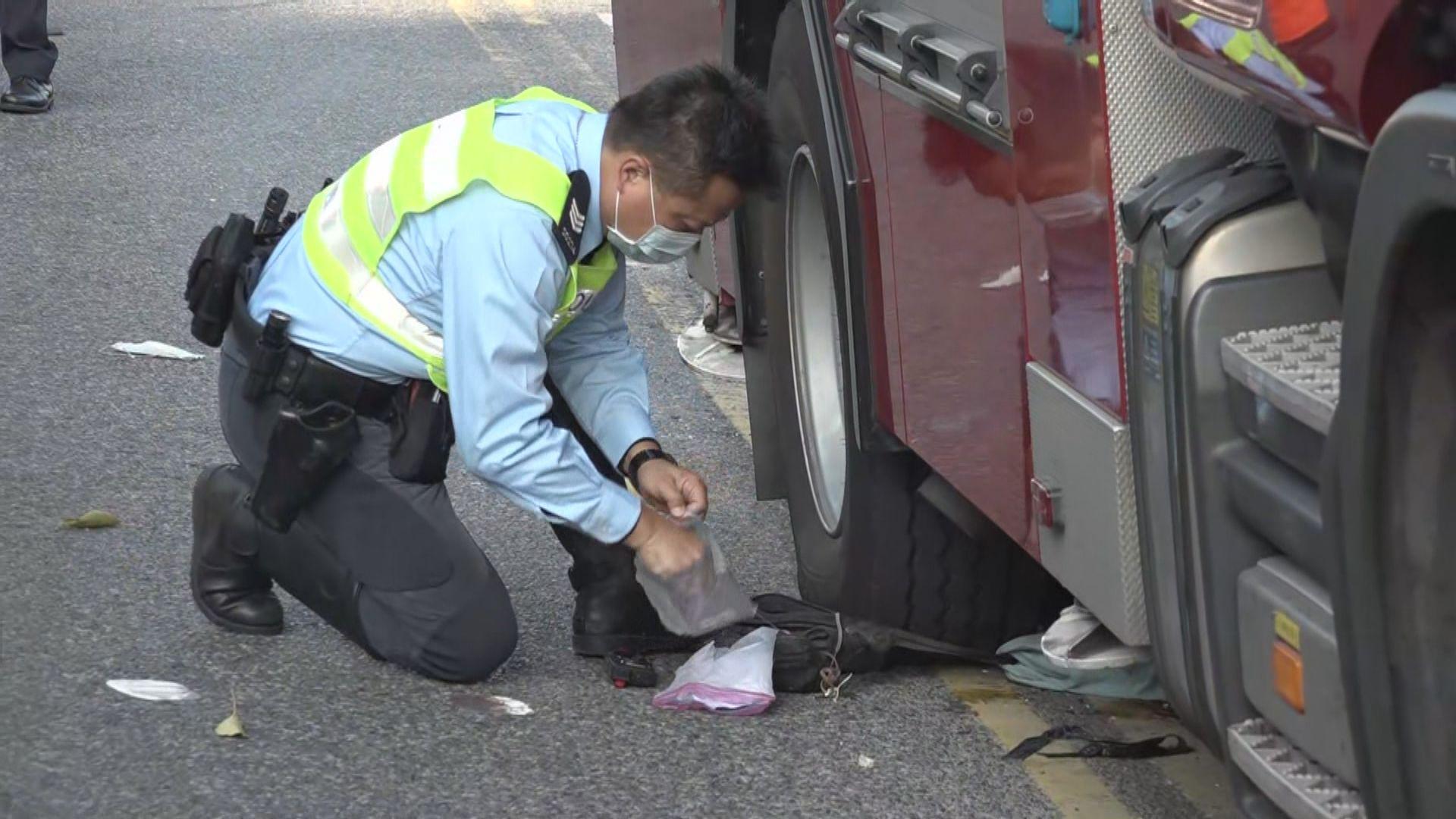 西貢消防車交通意外 司機報稱突然頭暈