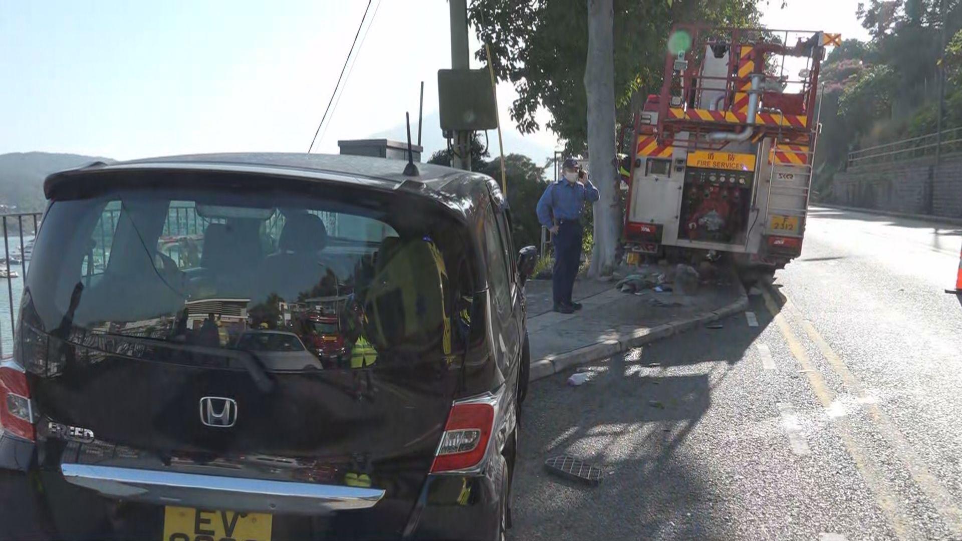 西貢交通意外踏單車男子不治 消防處深表遺憾