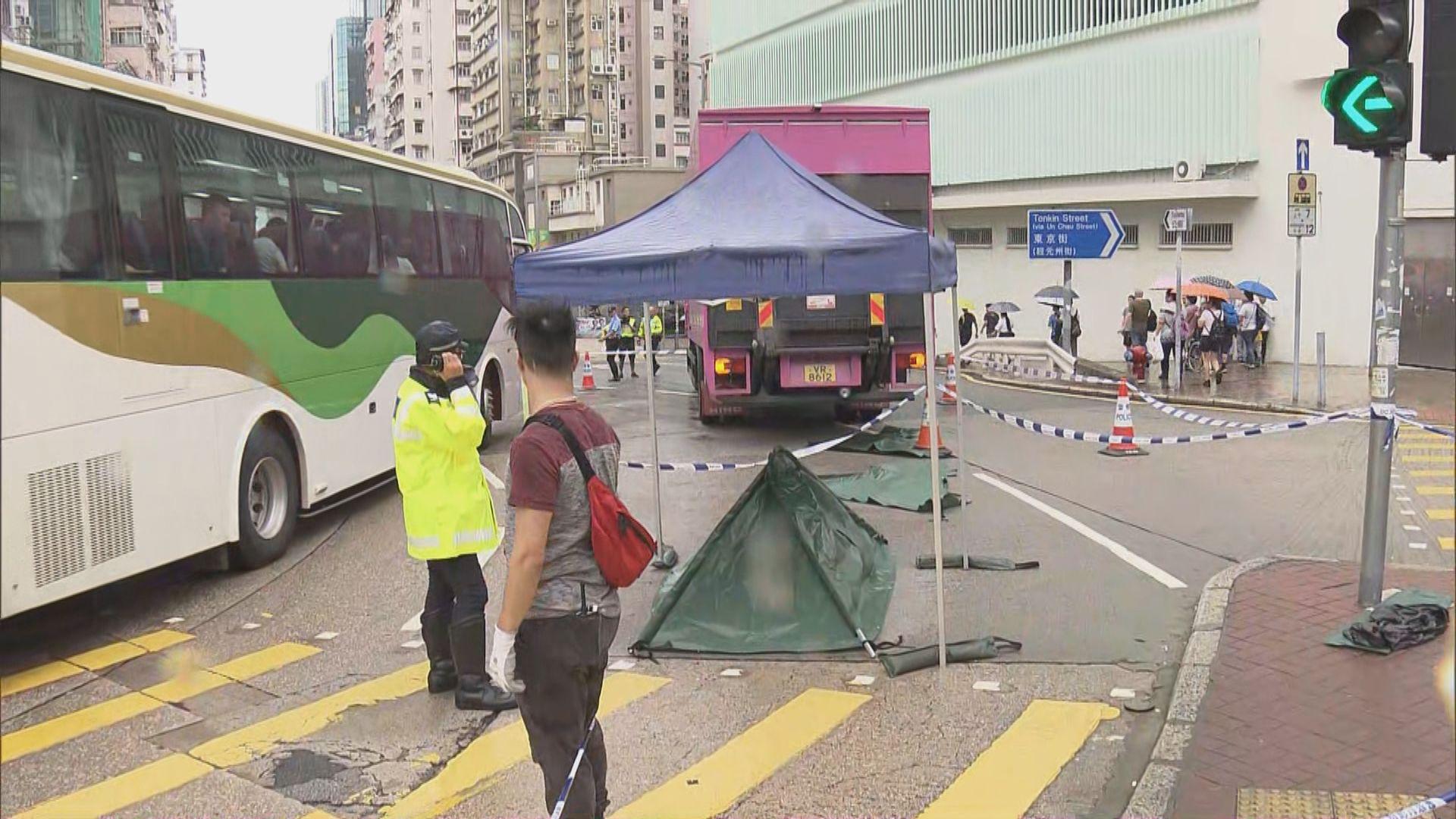 深水埗致命車禍 33歲司機被捕