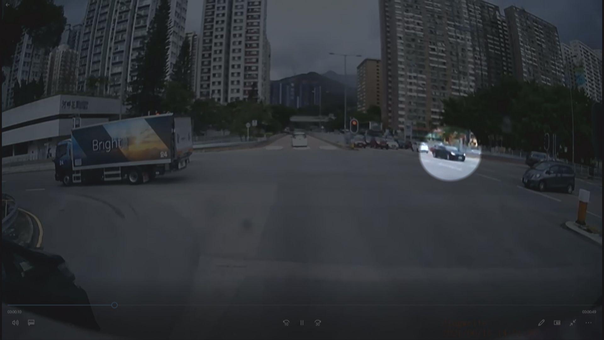 沙田致命車禍一死七傷 警方冀找涉事黑色私家車作跟進調查