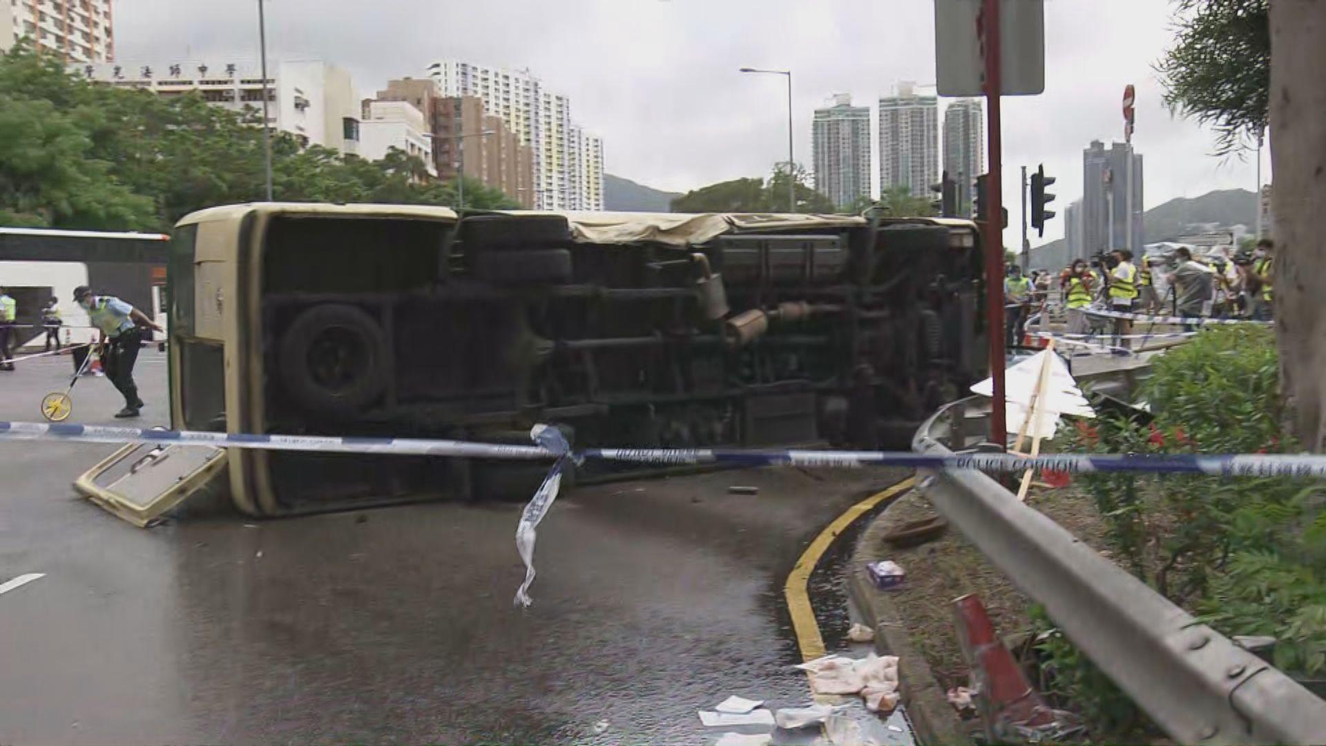 沙田致命車禍 私家車司機涉嫌危險駕駛致他人死亡被捕