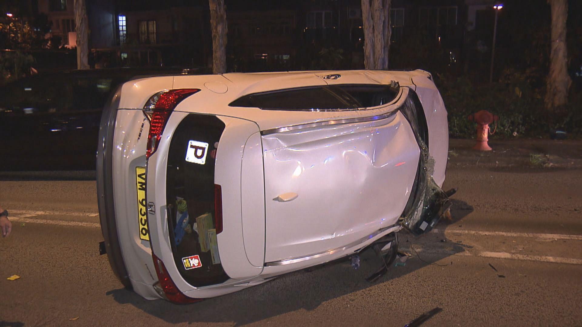 大埔有私家車撞倒過路外籍女途人